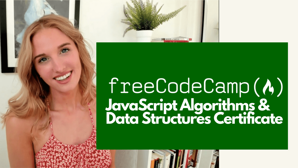 Completing freeCodeCamp's JavaScript And Algorithms Certificate cover image
