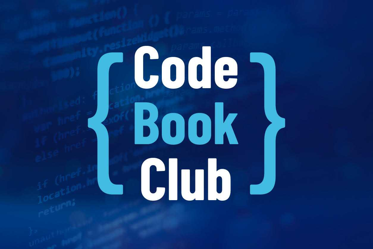 CodeBookClub: Details, Dates And How To Join A Meeting cover image